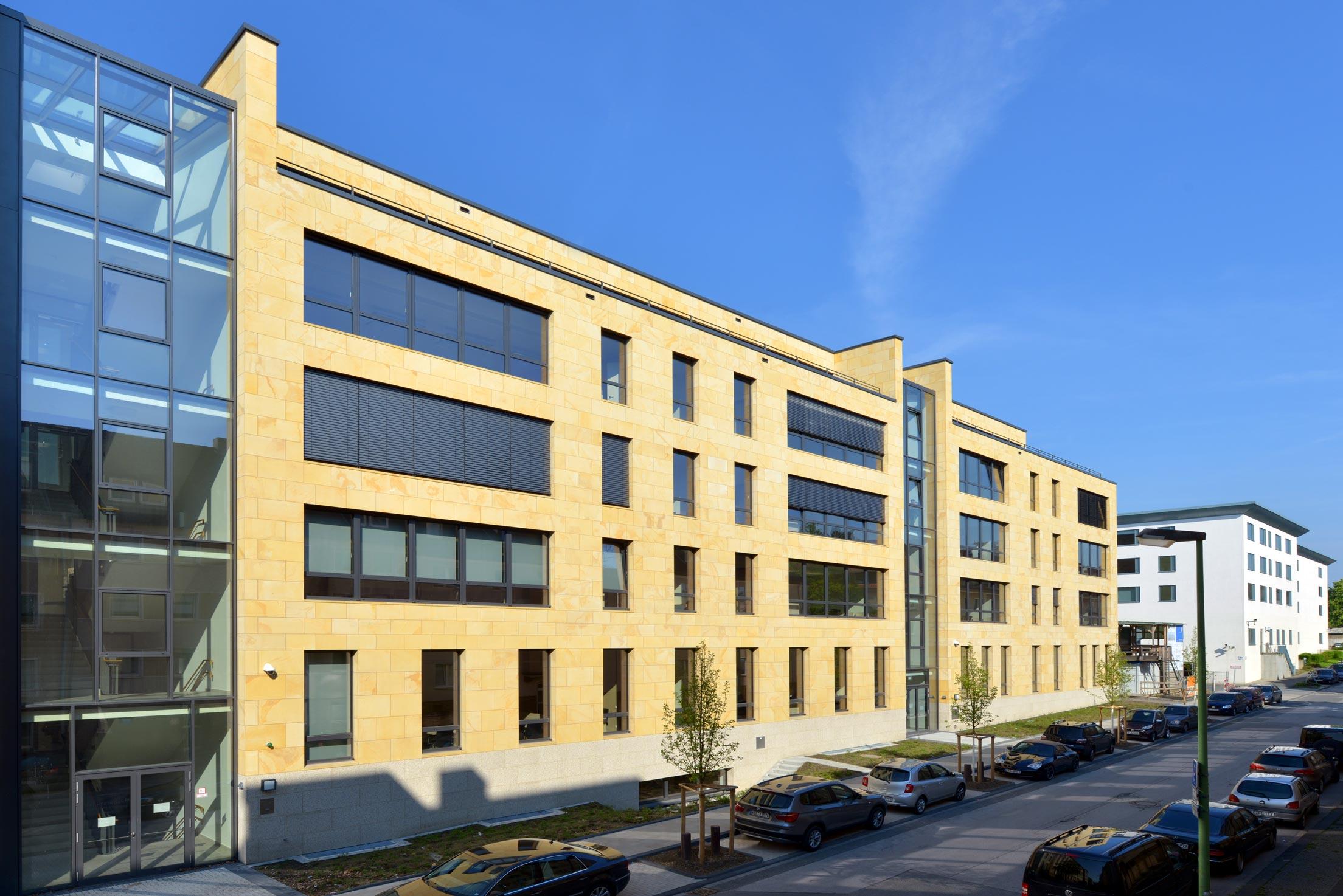 Neubau Justizgebäude Saaltrakt