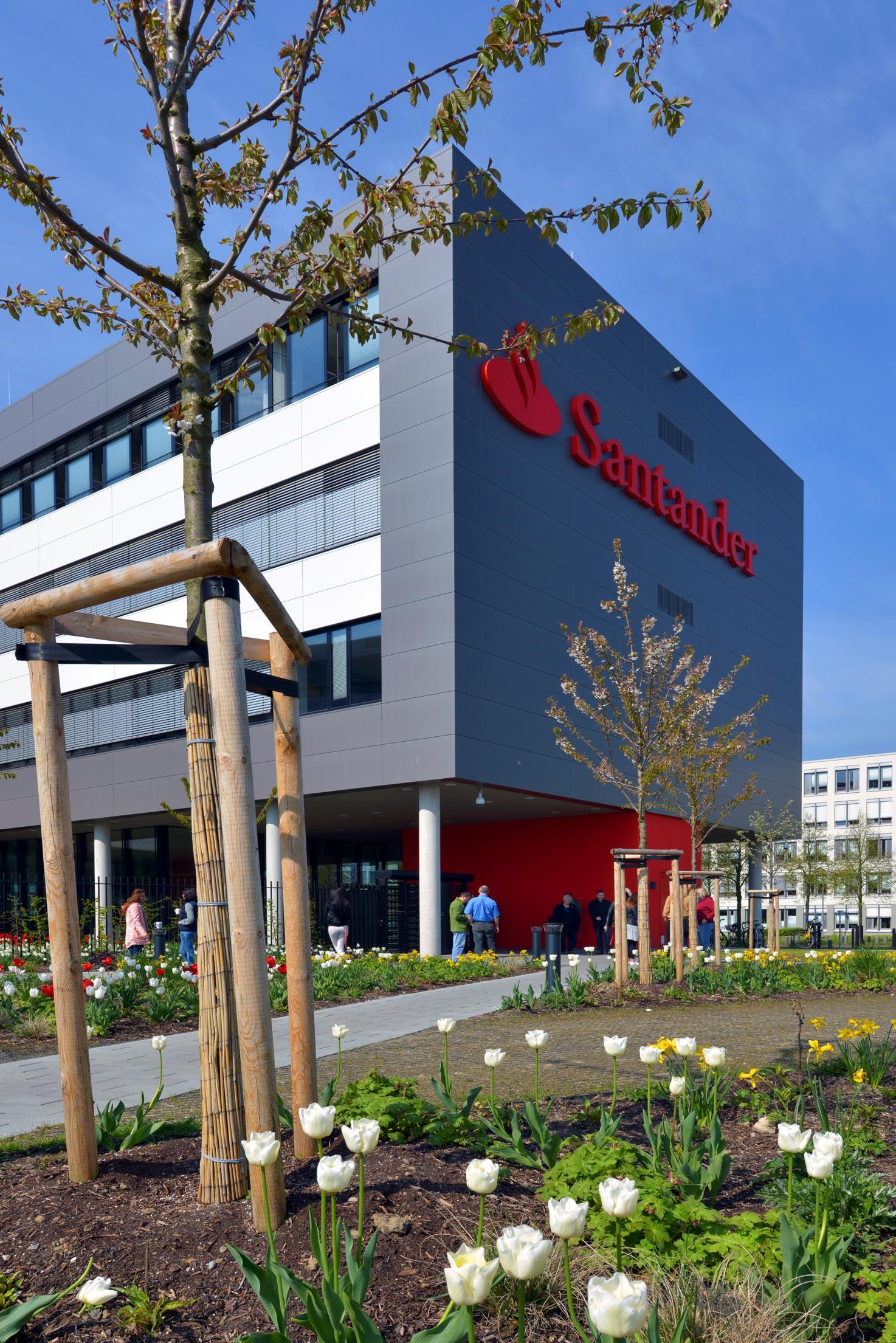 Neubau Bürogebäude Santanderbank