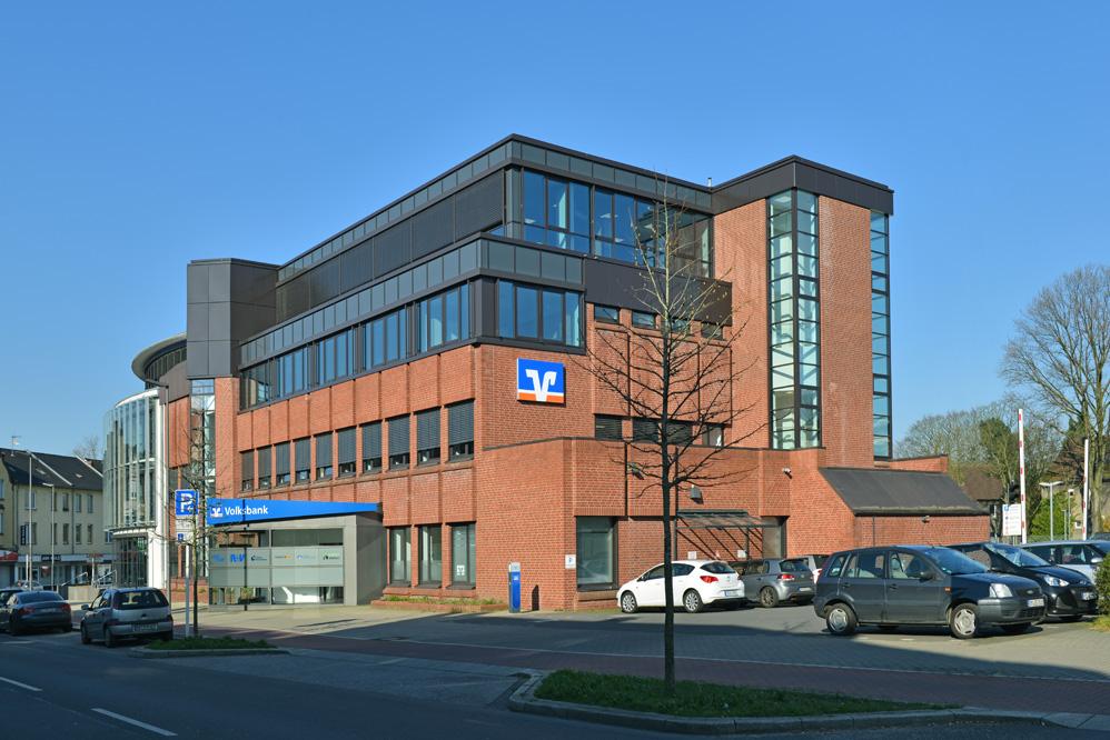 Neubau und Aufstockung Geschäftsstelle Volksbank Marl-Recklinghausen