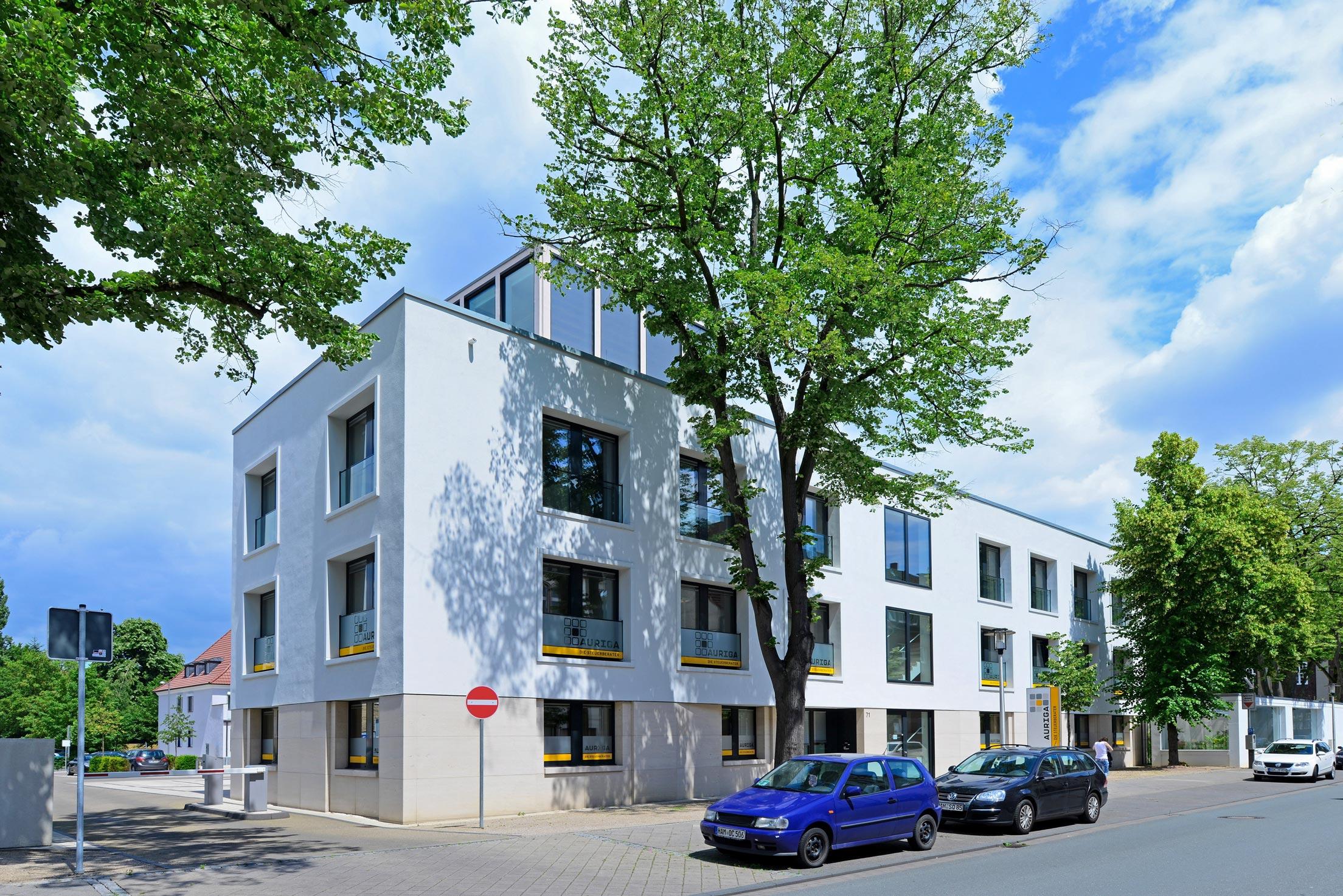 Neubau Geschäftsstelle Volksbank Hamm