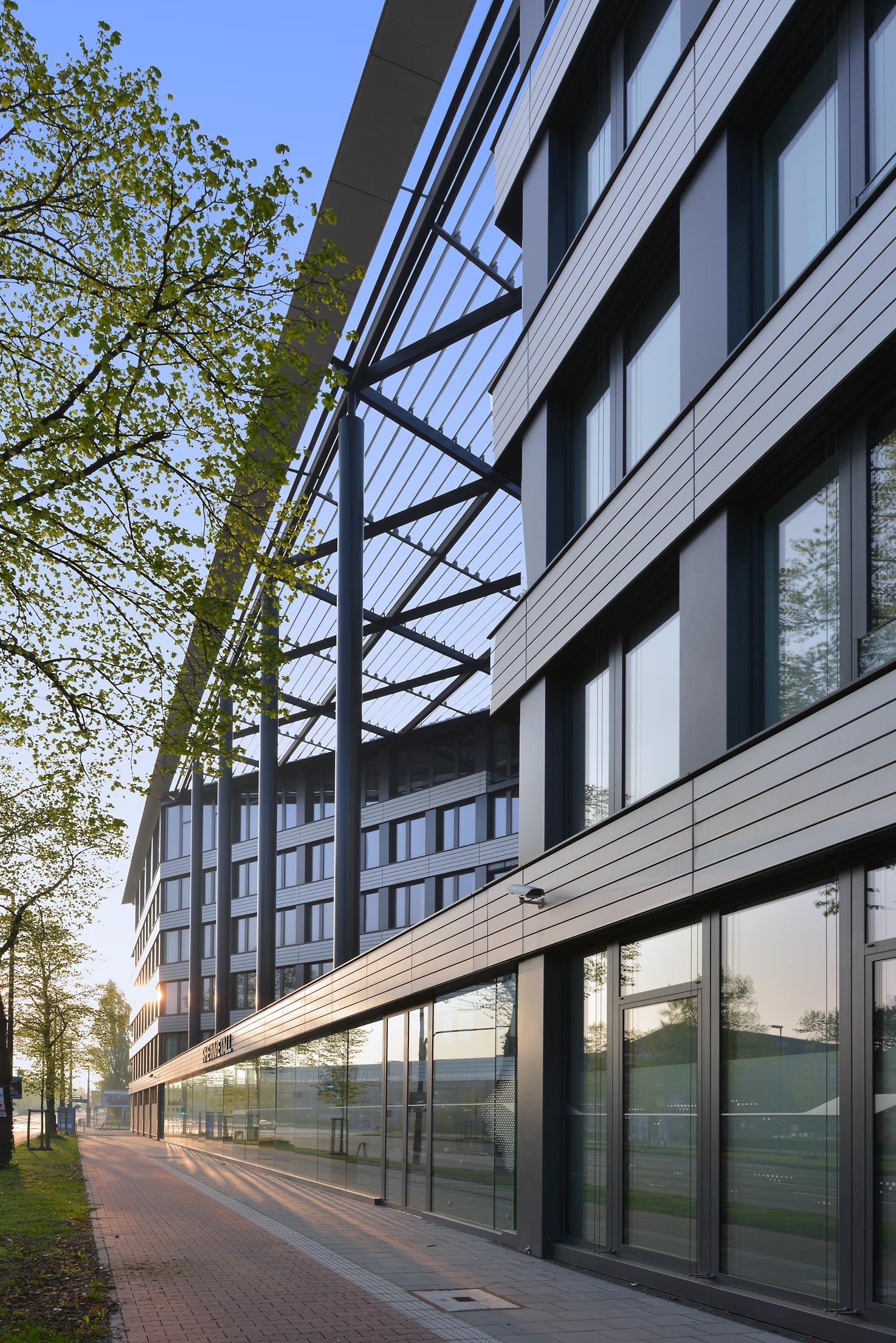 Neubau Bürogebäude Delta D Unternehmerstadt